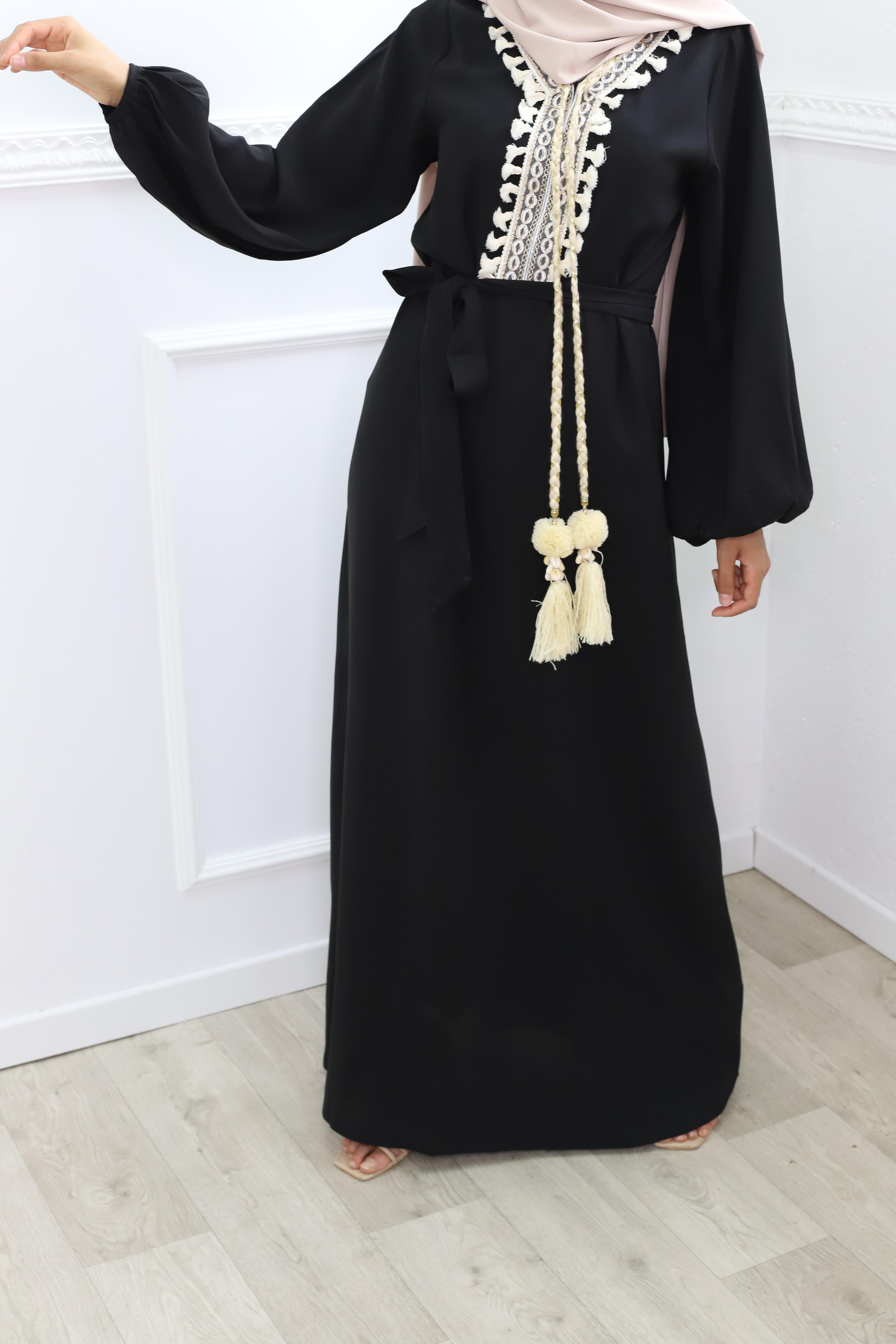 Robe celia noir