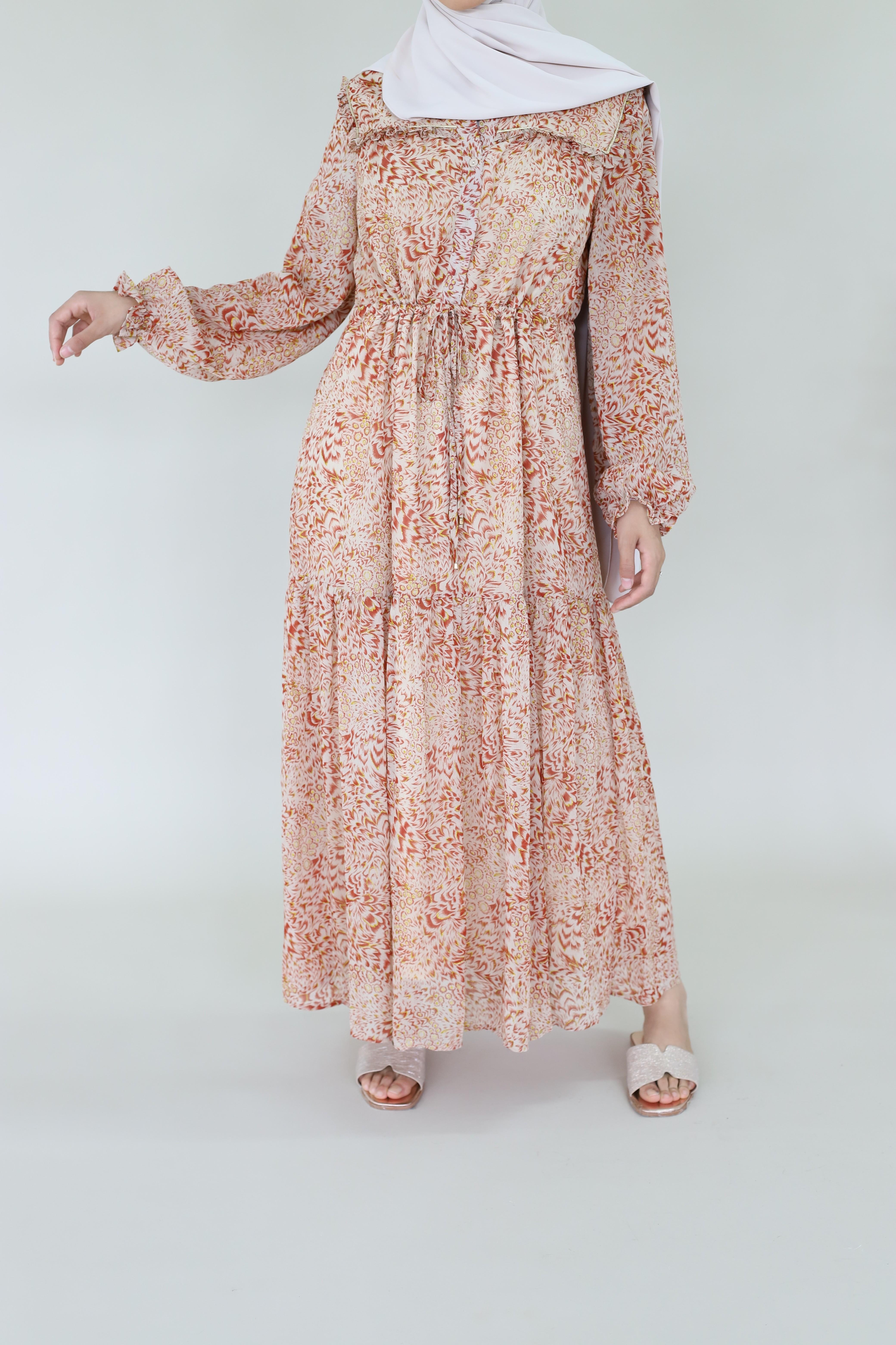 Robe longue africa