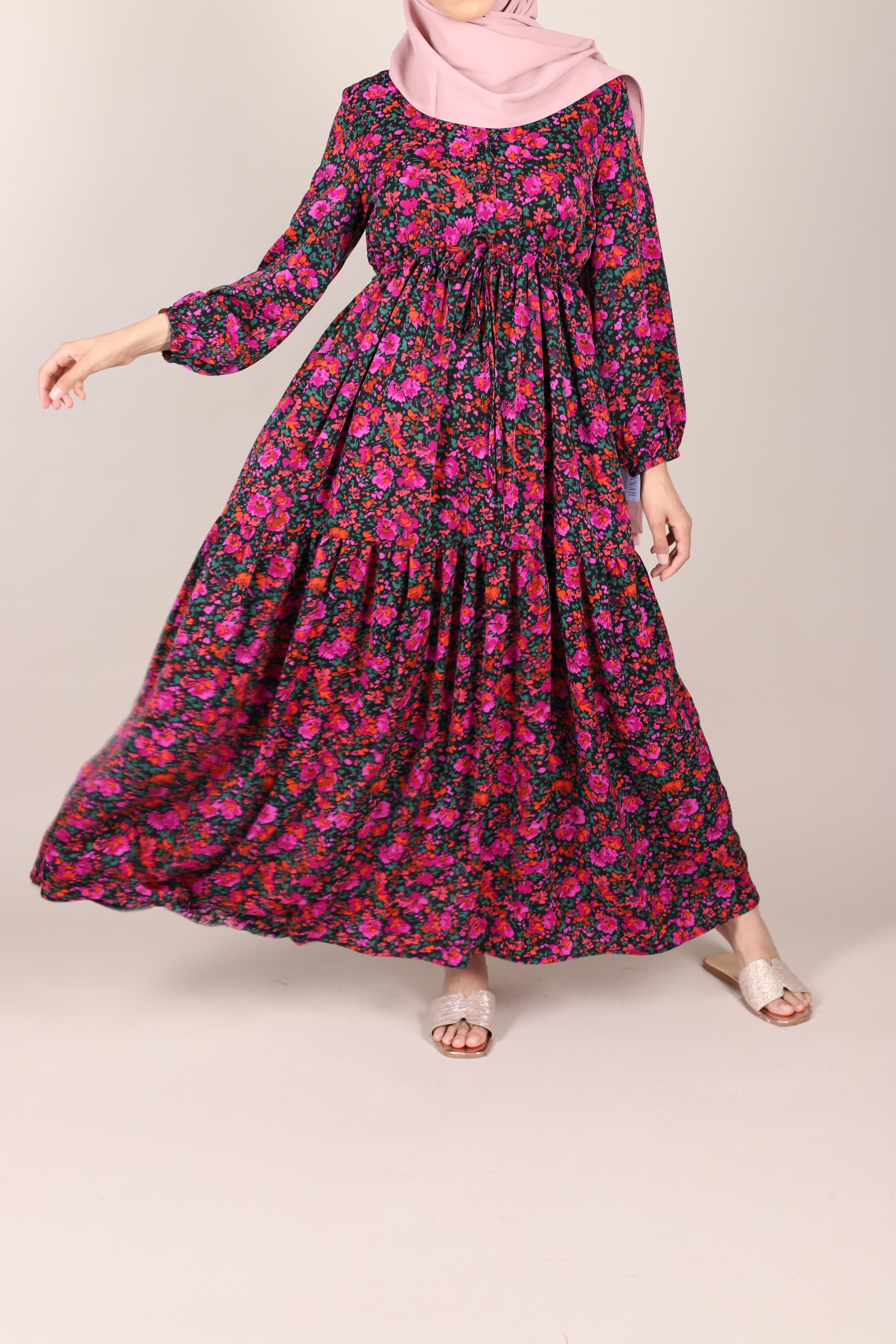 Robe fleurie fula
