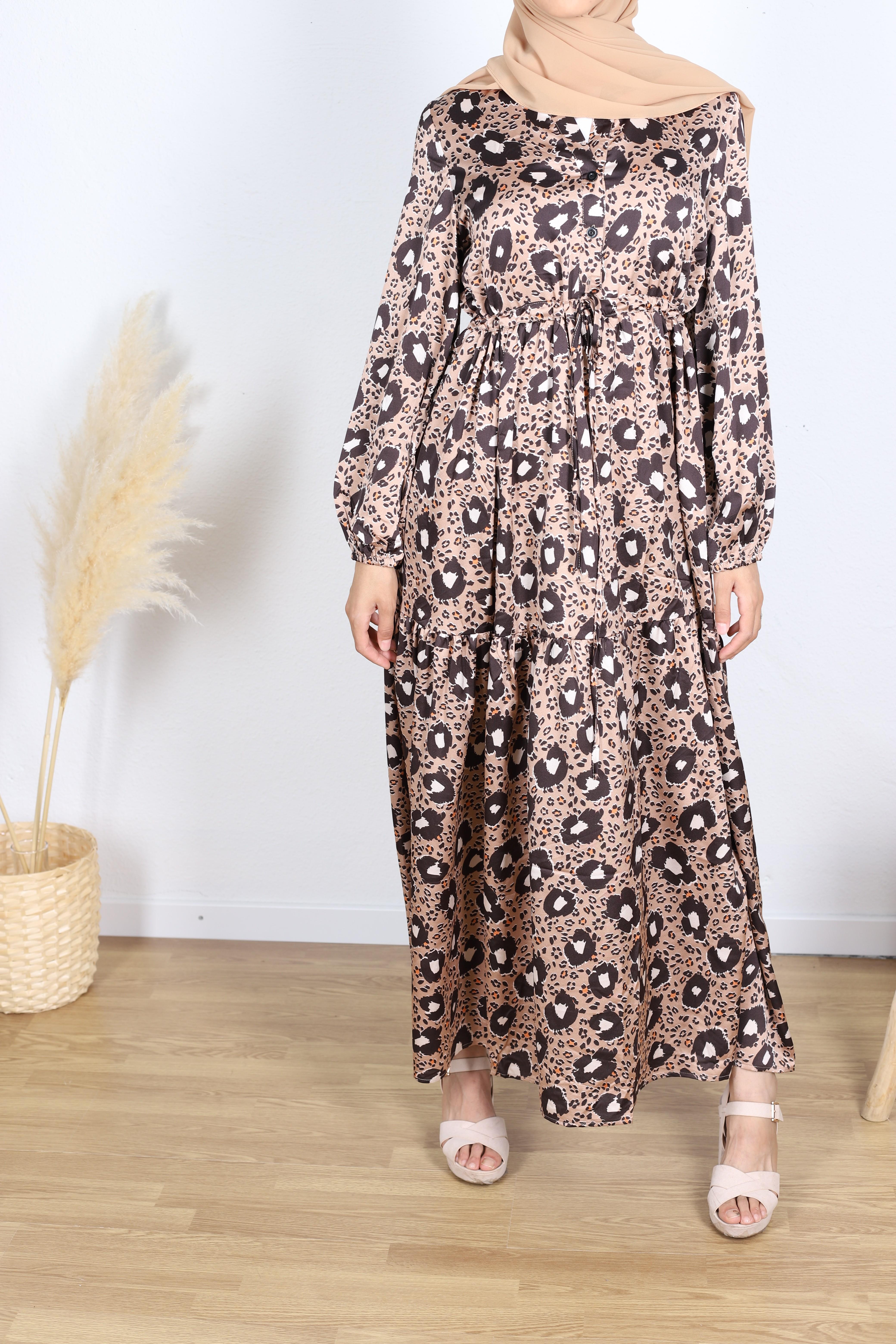 Robe jinen motifs