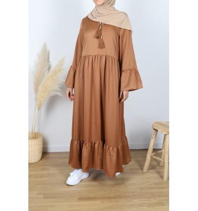 Robe sindab camel