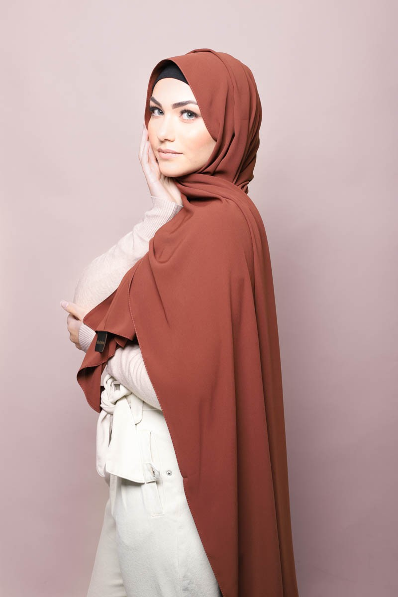 Hijab soie de medine terre