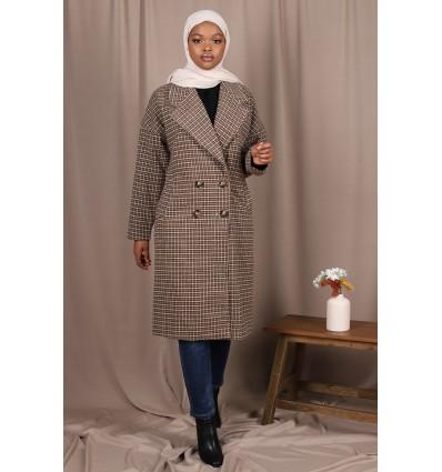 Manteau droit careaux