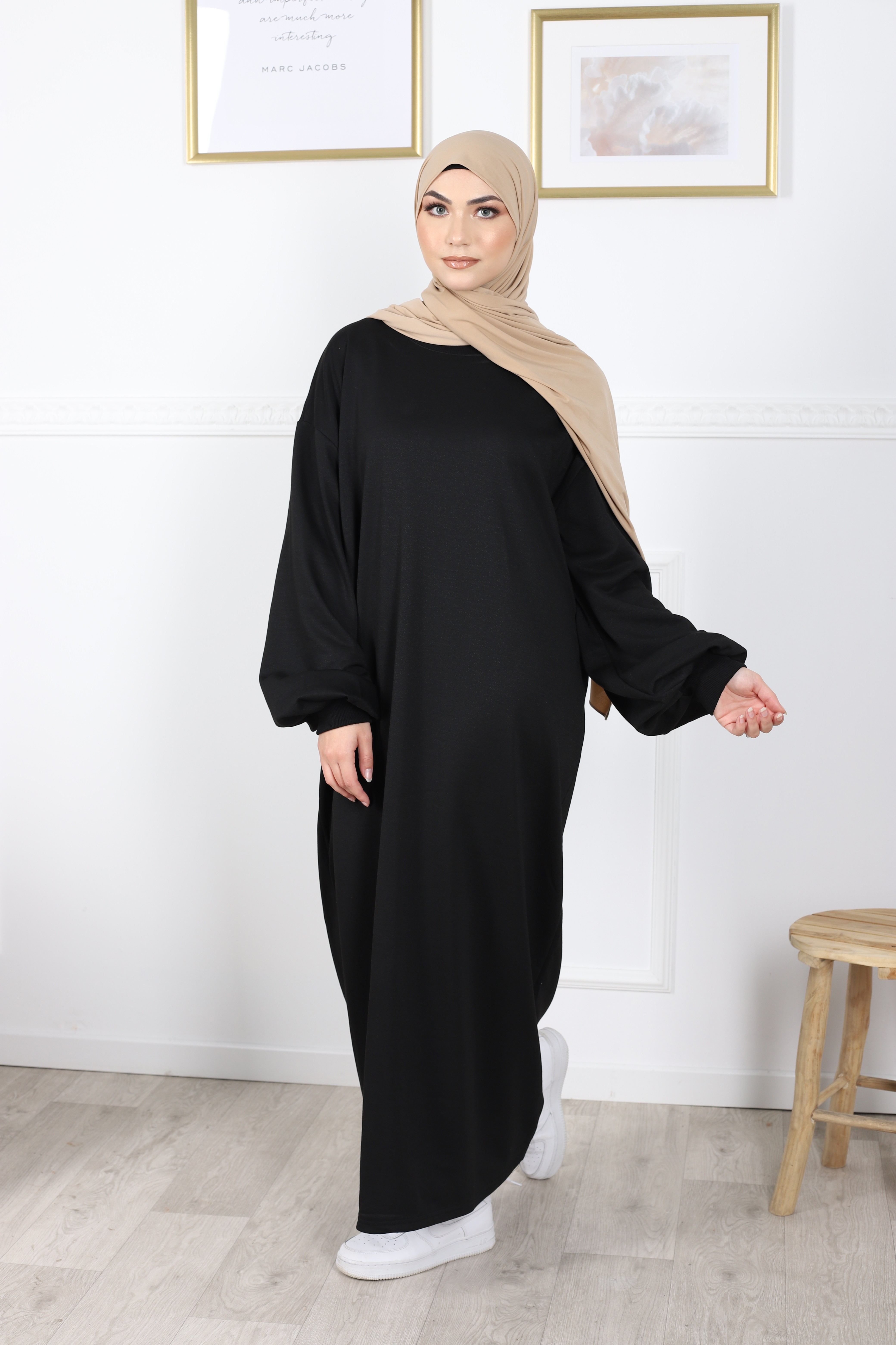 Robe pocket noir
