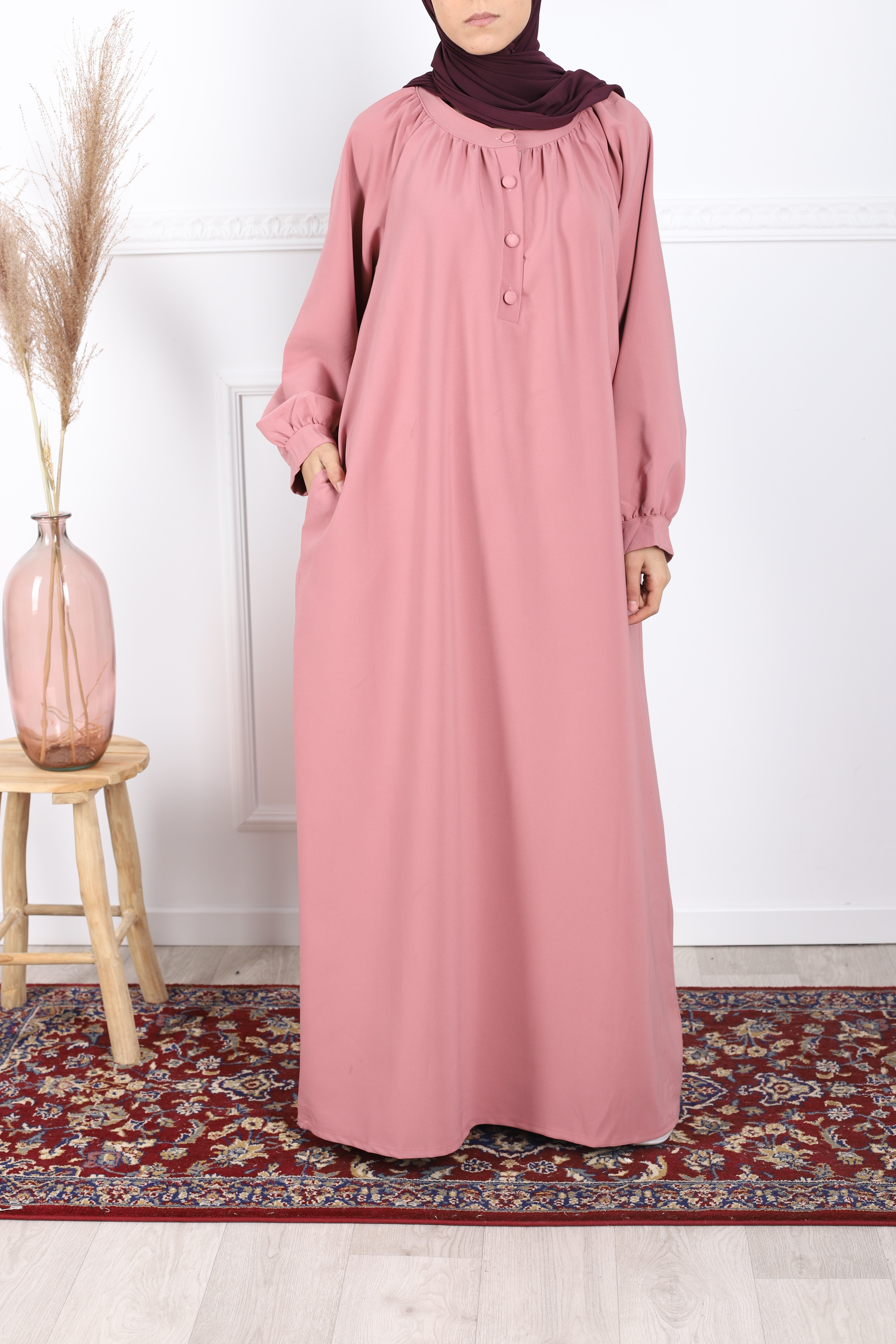 Robe noor rose