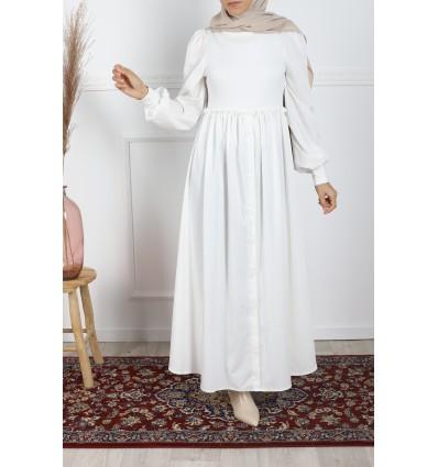 Robe dora blanche