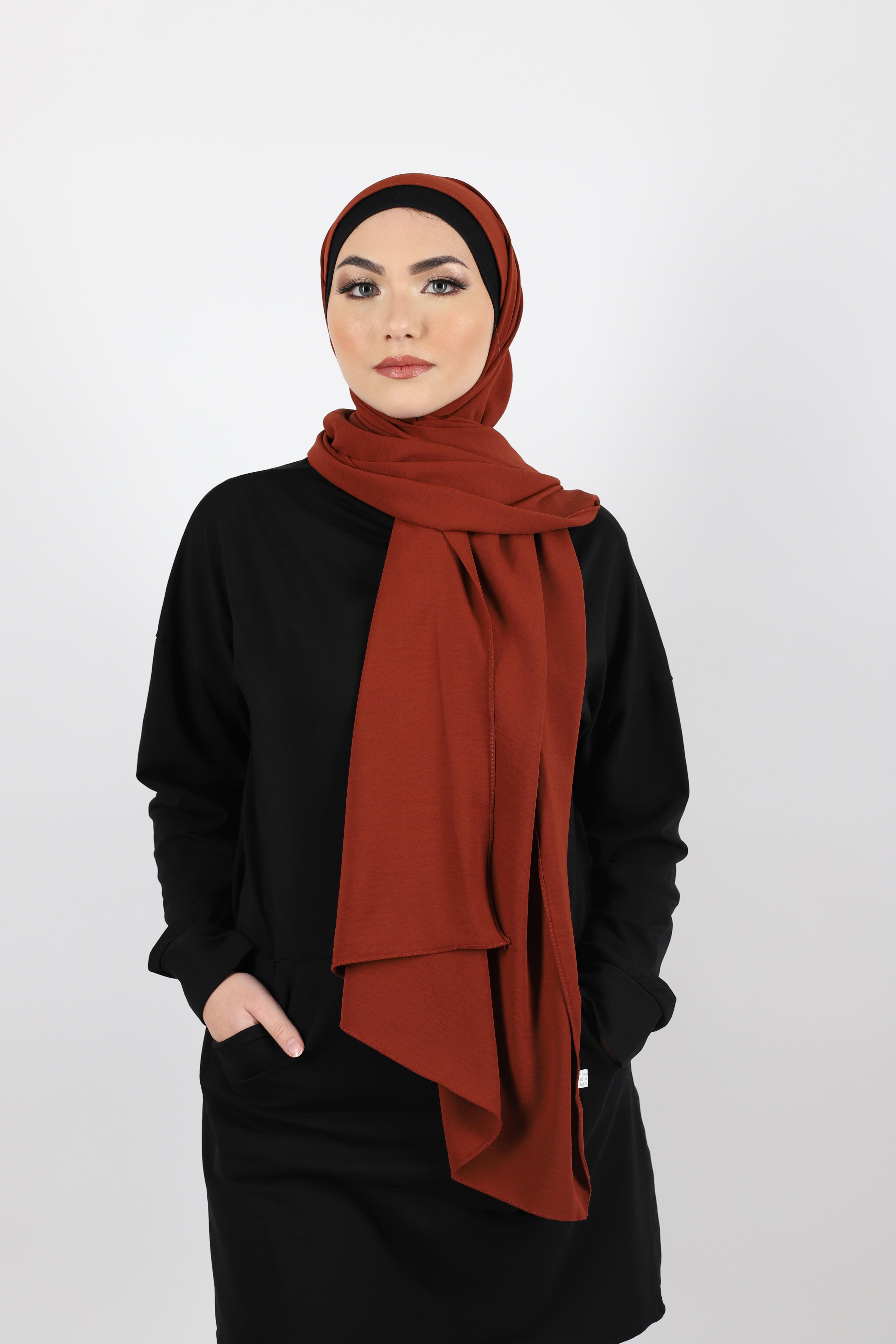 Hijab jazz rouille