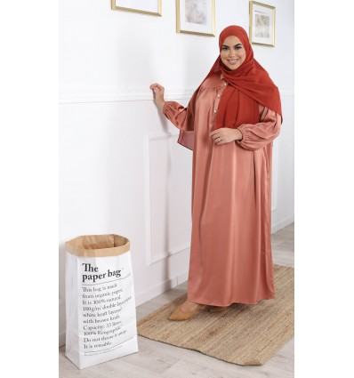 Robe huda terracota