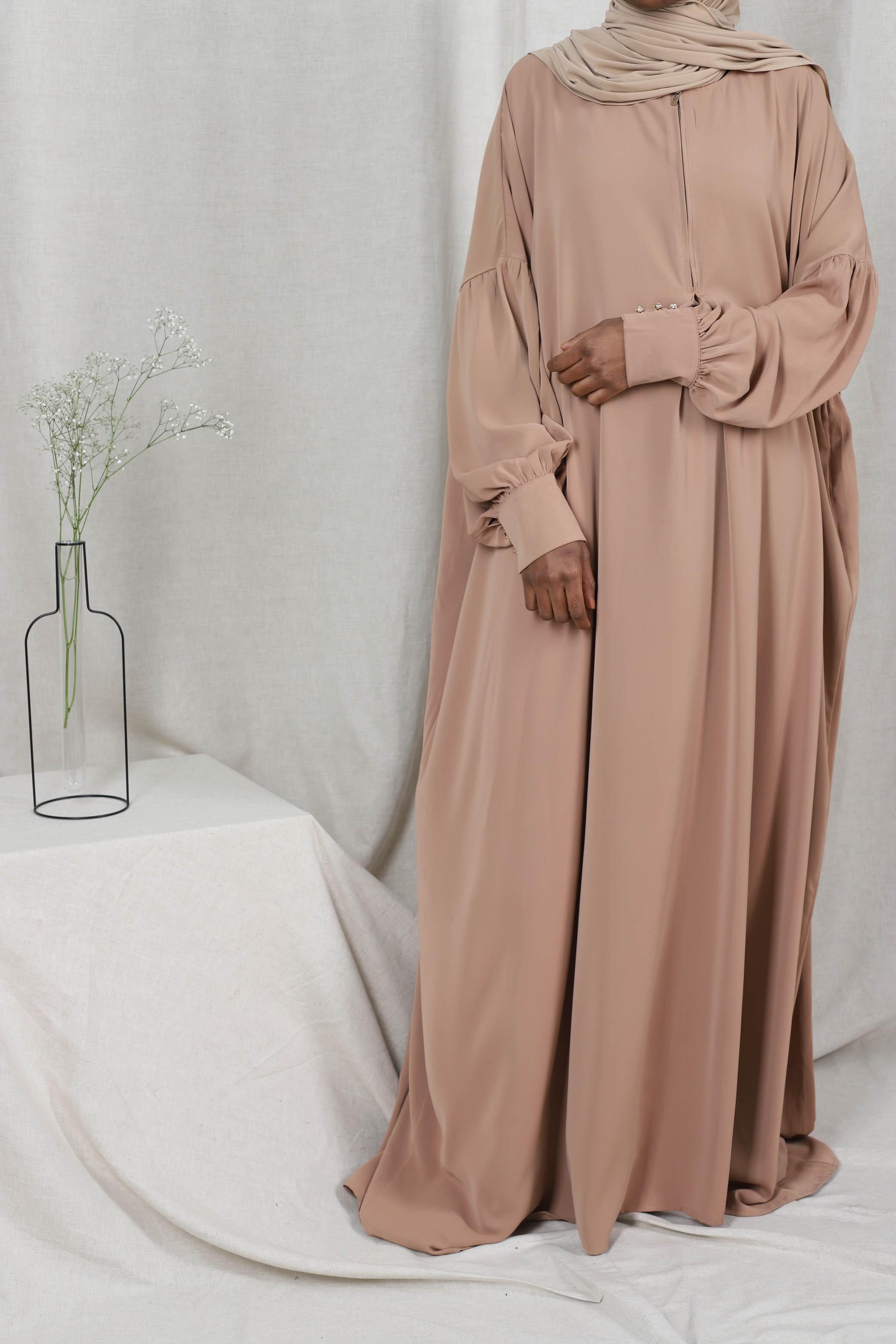Abaya safiya camel