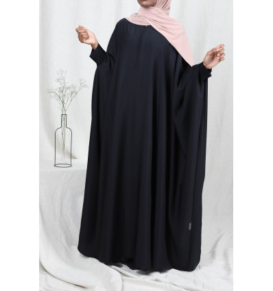 Abaya asma noir