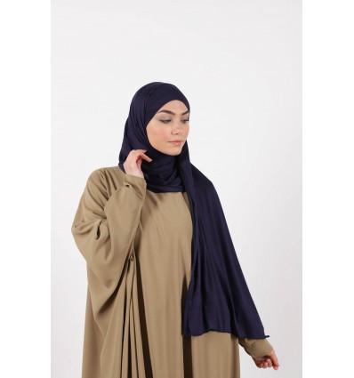 Hijab a enfiler bleu marine