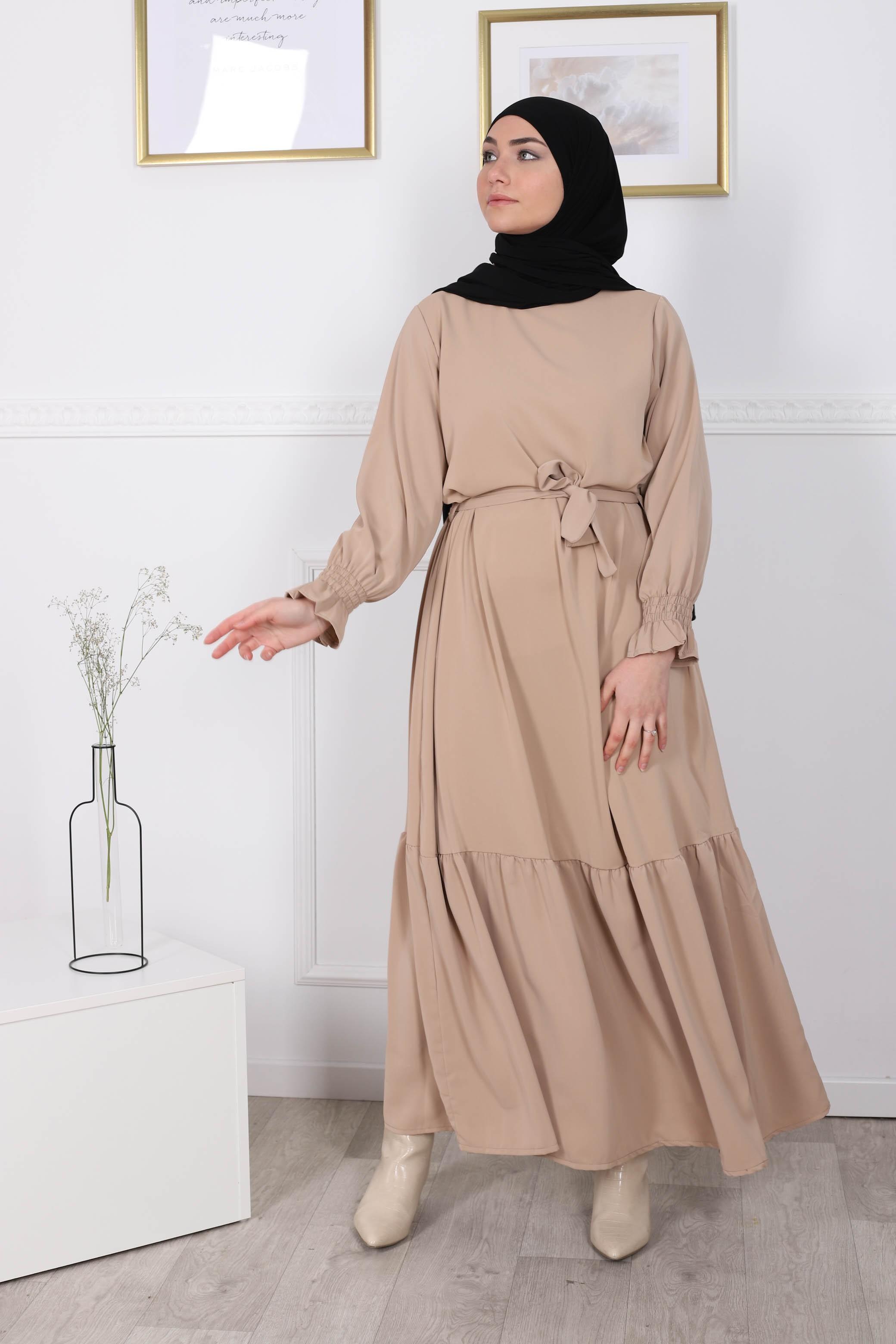 Robe fyfy beige