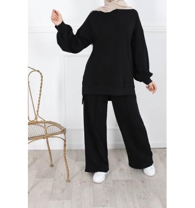 Ensemble sportswear noir