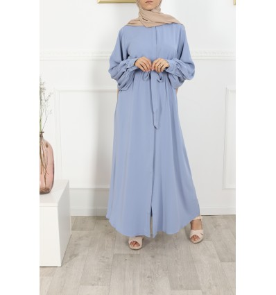 Robe firdaws bleu ciel