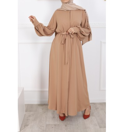 Robe firdaws camel