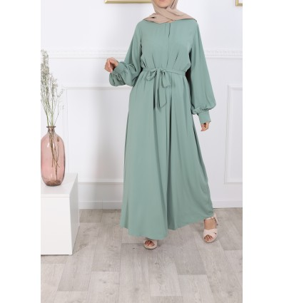 Robe firdaws emeraude