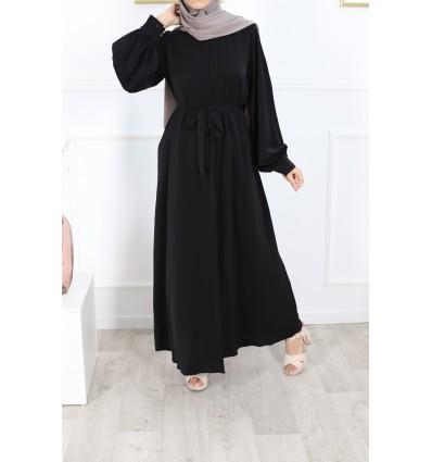Robe firdaws noir