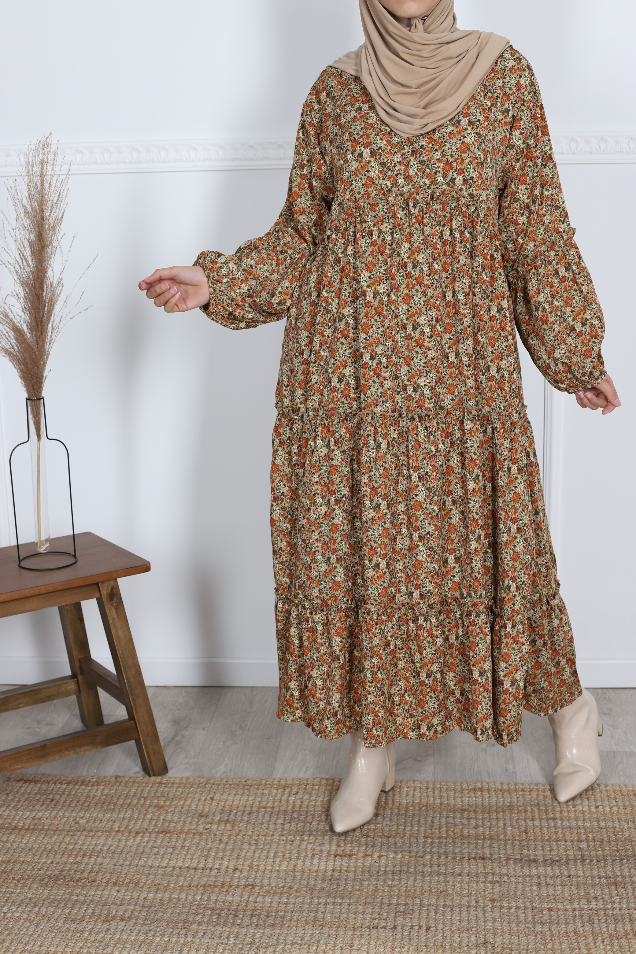 Robe fleuris petite