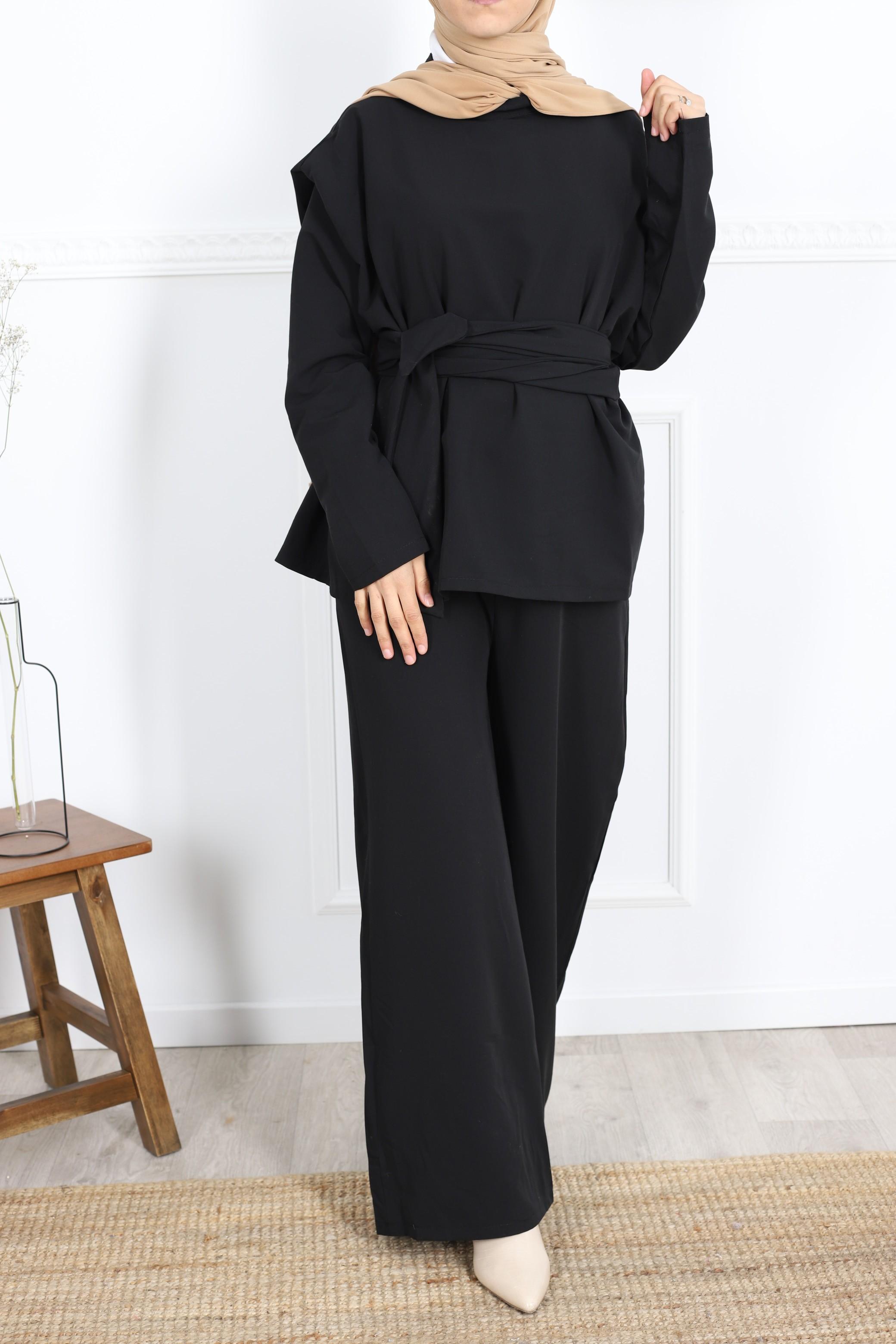 Ensemble belty noir