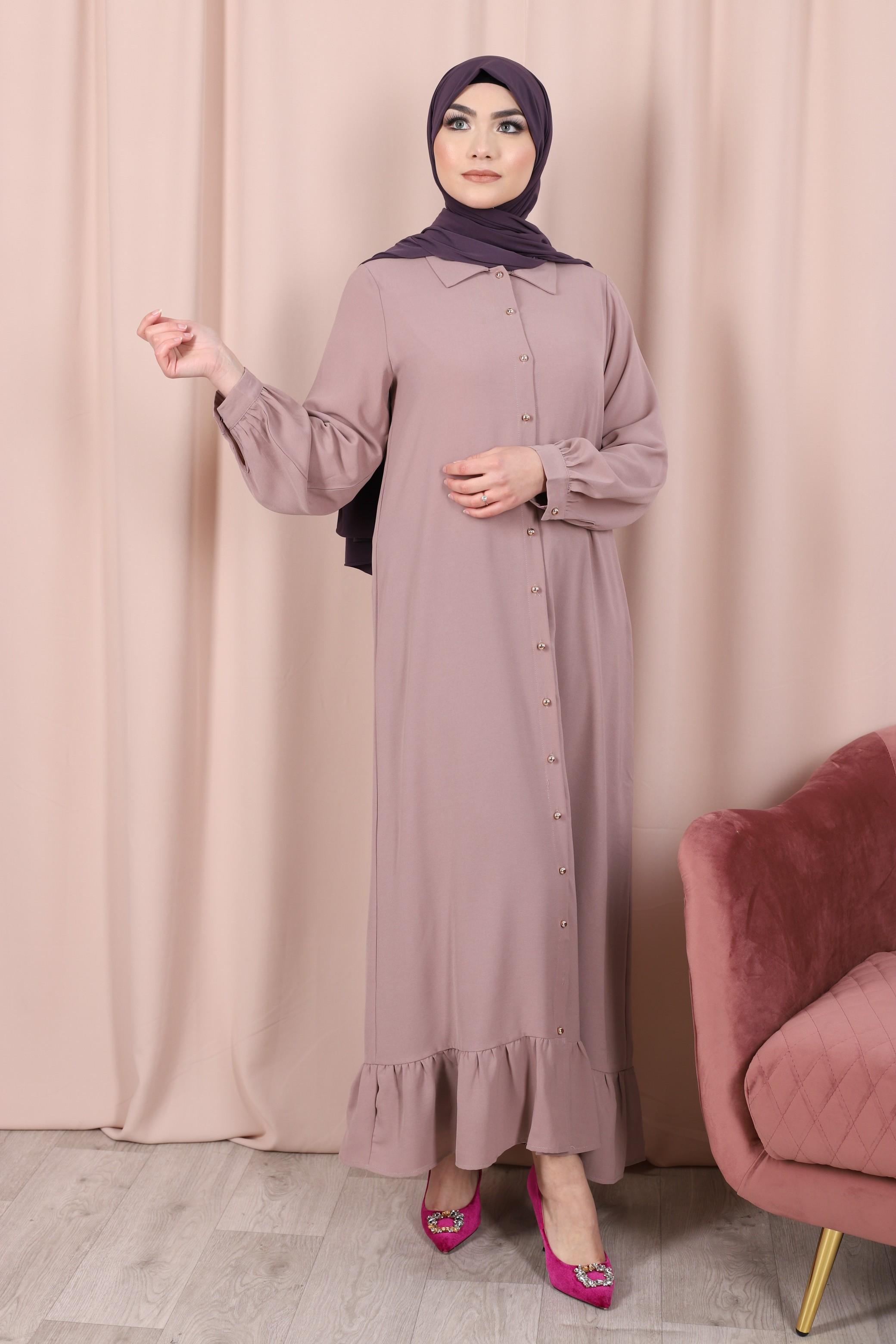 Robe emna violet
