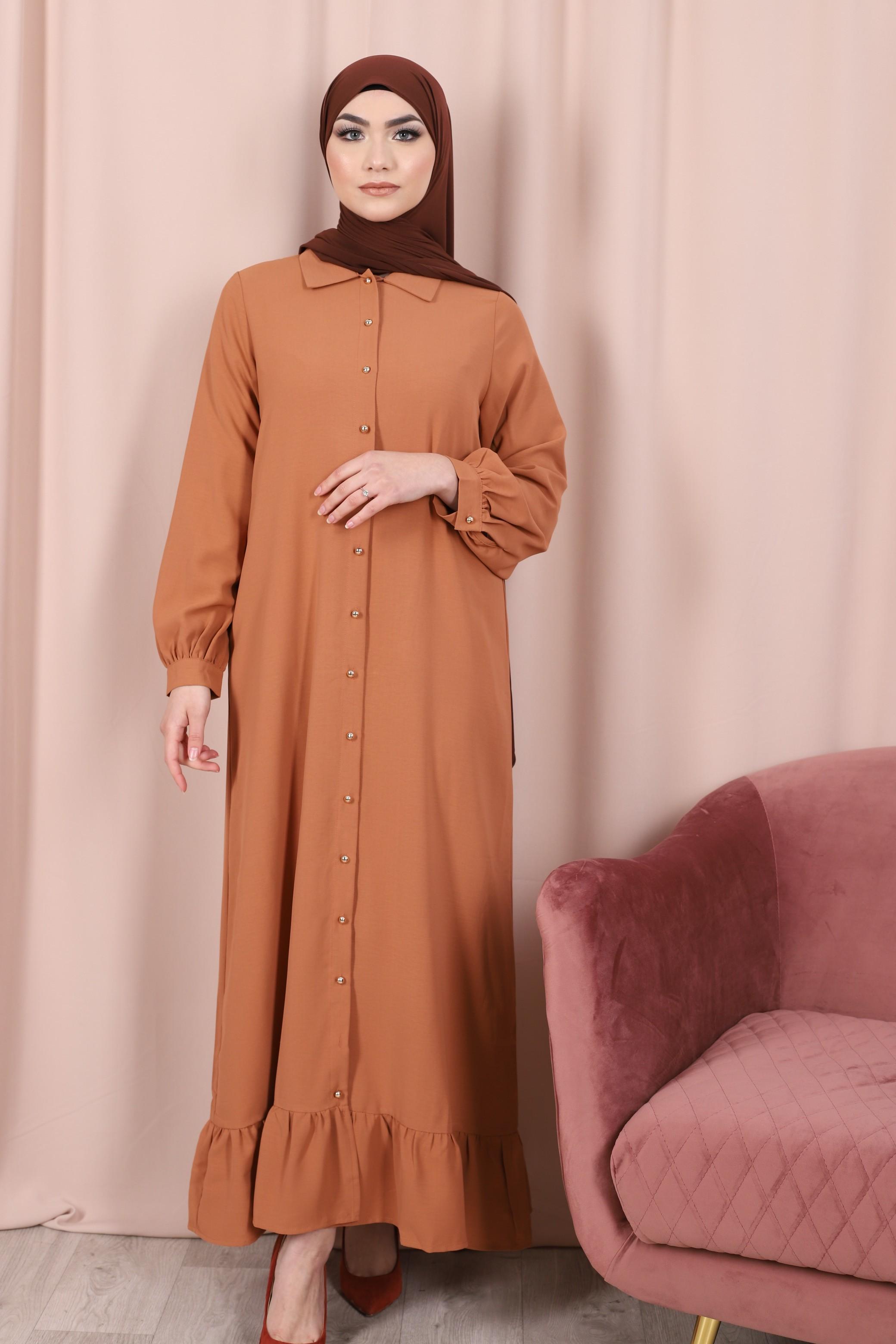 Robe emna camel