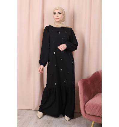 Robe allure noir