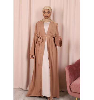 Kimono basic camel