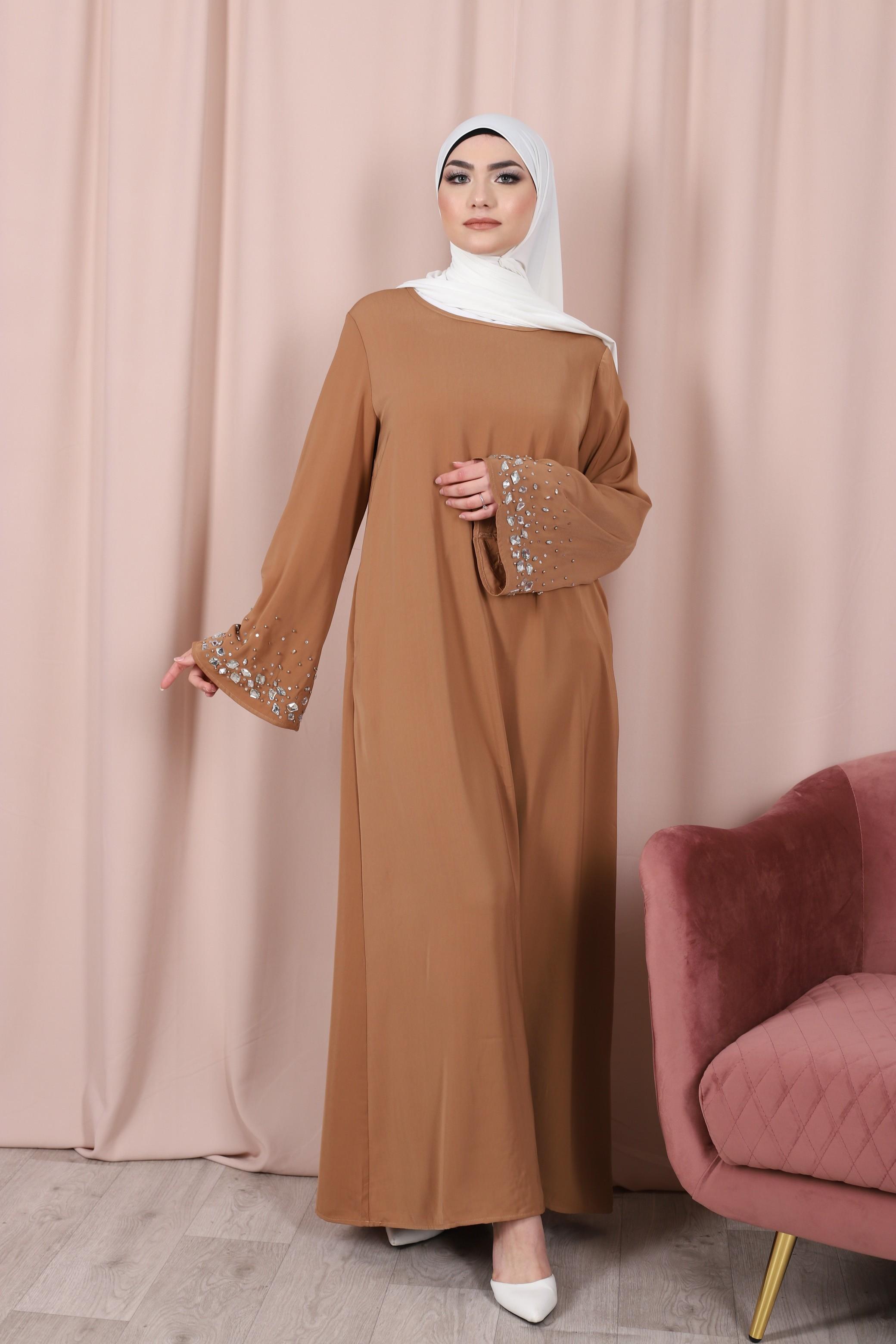 Abaya crystal camel