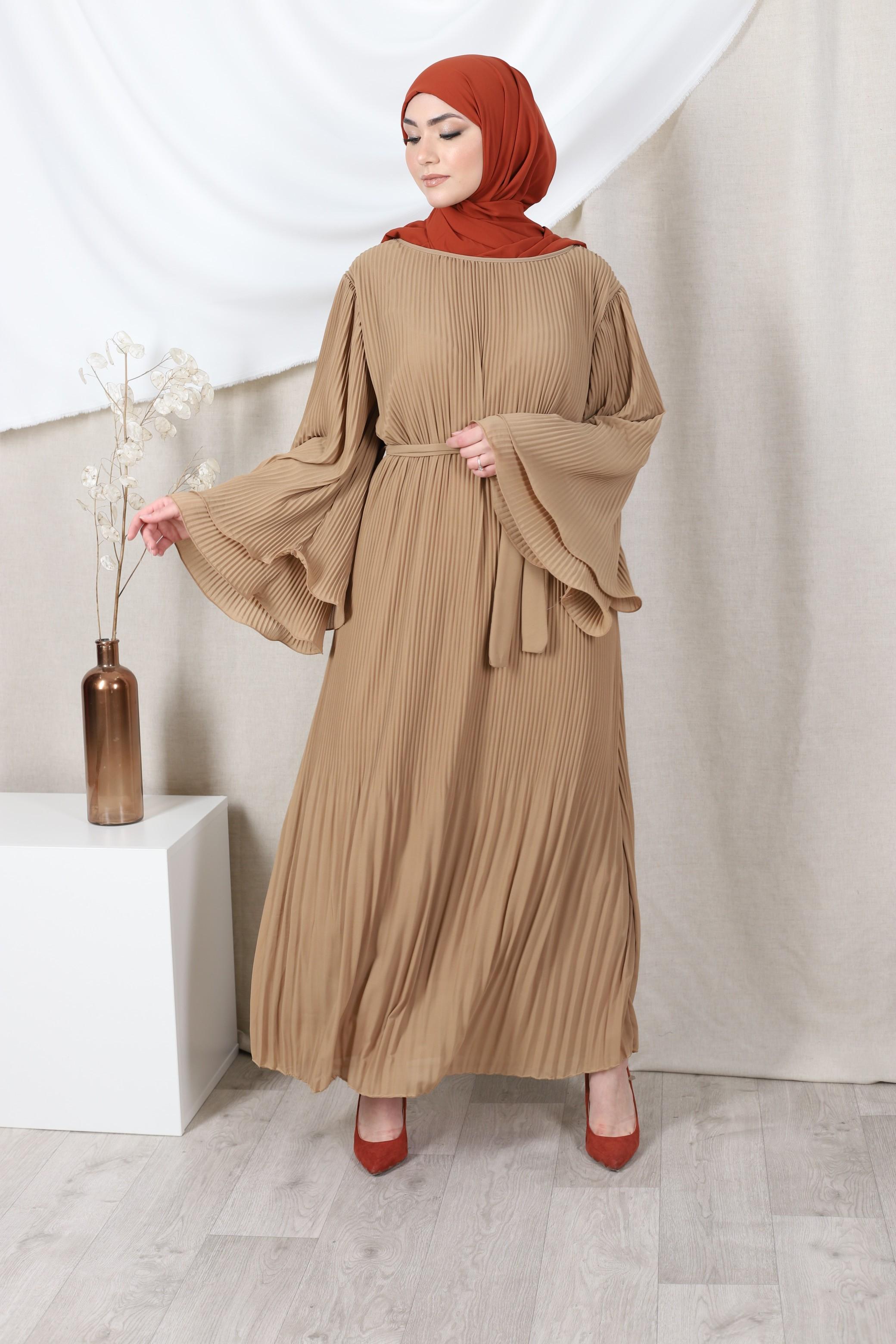Robe jouda camel