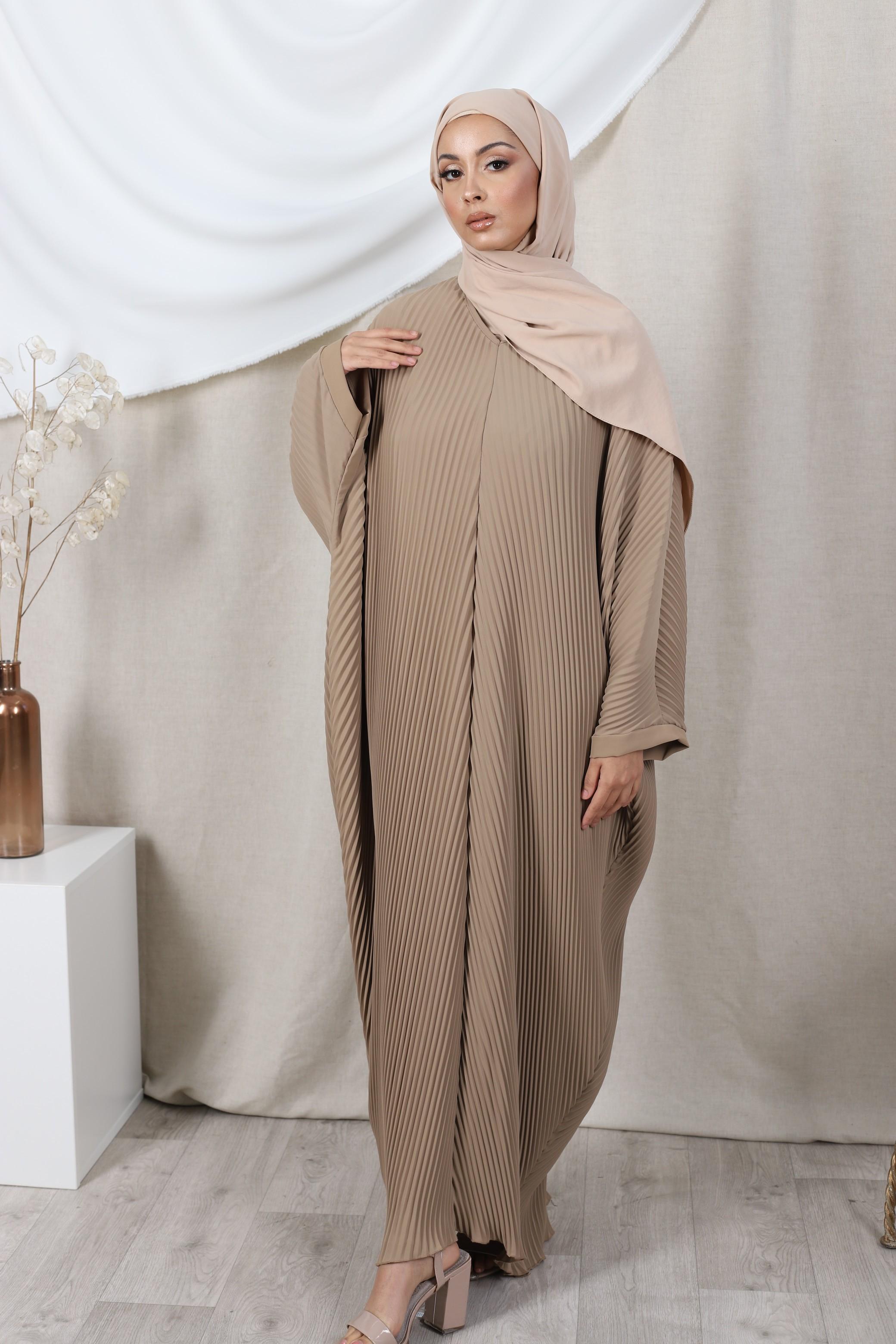 Abaya farasha camel