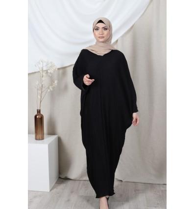 Abaya farasha noir