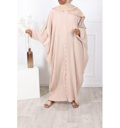 Abaya farasha beige