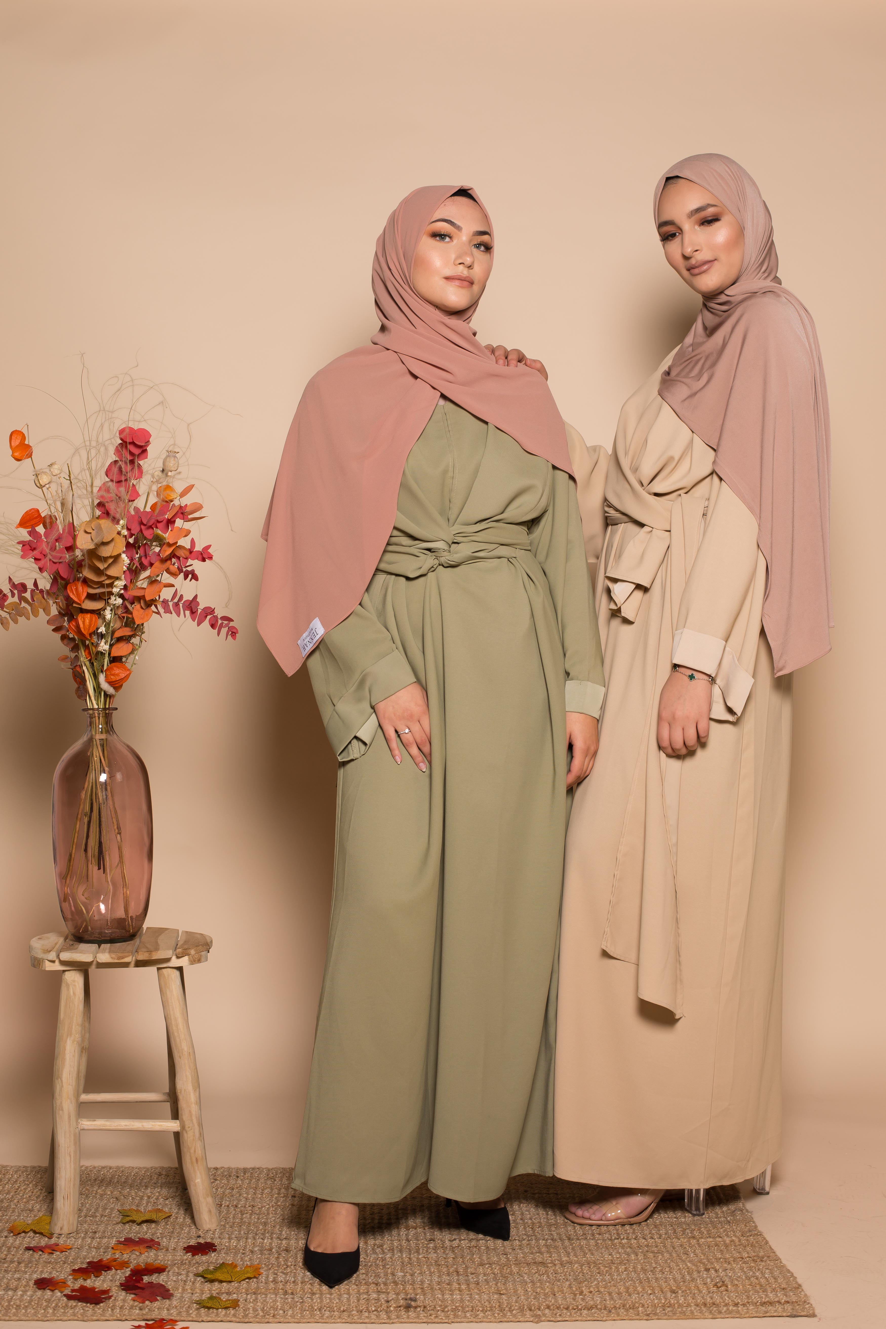 Robe longue femme musulmane